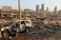 انفجار بيروت خسائر في الأرواح والسيارات