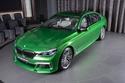 صور بي إم دبليو M760Li بلون رالي الأخضر! ما رأيك جميلة أم لا؟