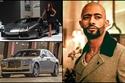 صور محمد رمضان يضم لمبرجيني ورولز رويس إلى أسطول سياراته!