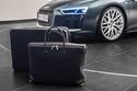 صور اودي تطلق حقيبة فاخرة بسعر 7,500 يورو لسيارتها R8 الجديدة