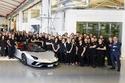 1- لمبرجيني تحتفل بإنتاج 7,000 سيارة أفنتادور