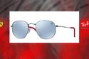 1- 10 من أجدد وأجمل نظارات فيراري الشمسية من تصنيع راي بان
