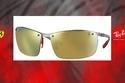 2- 10 من أجدد وأجمل نظارات فيراري الشمسية من تصنيع راي بان