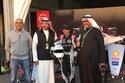 خلال سباق الفورمولا إي لسيارات سباق كهربائية على مضمار درعية في الرياض