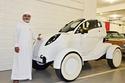 فهي واحدة من أغرب السيارات التي يمتلكها الشيخ حمد بن حمدان