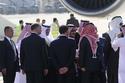 الملك سلمان بجوار ملك الأردن
