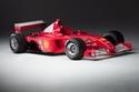 سيارة مايكل شوماخر لموسم 2001 باتت أغلى سيارة فورمولا1 حديثة في العالم