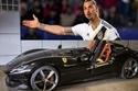 ظهر إبراهيموفيتش أسطورة كرة القدم السويدية وهو يقود فيراري مونزا PS2