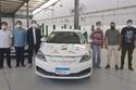 أول سيارة كهربائية مصرية تدخل في تجربة مع أوبر