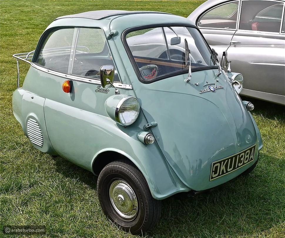 أصغر 10 سيارات ... في العالم! 🚘 بالصور