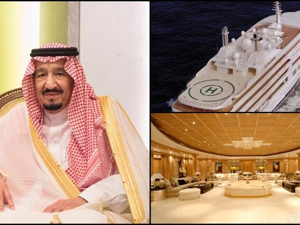 صور يخت الملك سلمان بجزر المالديف يذهل الجميع .. فخامة لا مثيل لها!