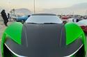 """التصميم الخارجي للسيارة، الذي صنع من """"جورجاريو"""" خصيصاً للسعودية."""