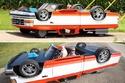 أول تصميم لسيارة مقلوبة
