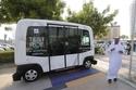 صور لأول تجربة لحافلة ذاتية القيادة في دبي