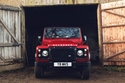 شركة صناعة السيارات البريطانيةلاند روفر عن إطلاق السيارةالأيقونةديفندر