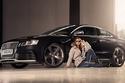 مزيج هجين من الأناقة، الموضة العصرية المستوحاة من خلال السيارة RS5.