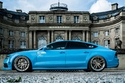 اودي A7 تتألق باللون الأزرق الفاتح وطقم جنوط مميزة 2