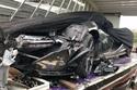 ماكلارين P1 تتحطم بشكل مؤسف في كمبوديا بسبب الشاحنة التي تحملها