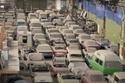 مخزن به عدد هائل من السيارات الكلاسيكية والنادرة