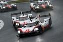 1- سيارتا بورش 919 هايبرد تنهيان السباق في المركزين الثالث والرابع