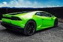 صور لمبرجيني هوراكان معدلة بالأخضر الساحر من Vilner 1