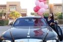 سيارة رولز رويس هدية لعلا الفارس بمناسبة عيد ميلادها .. ولكن!