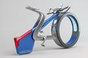 دراجة لكزس بعجلة أمامية بدون محور وبشكل مميز للغاية