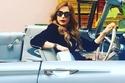 صور: امل حجازي تستعين بسيارات كلاسيكية وفارهة في الكليب الجديد!