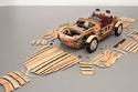 سيارة سيتسونا من تويوتا، مصنوعة من الخشب