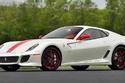 صور عرض فيراري 599 GTO نادرة باللون الأحمر والأبيض للبيع
