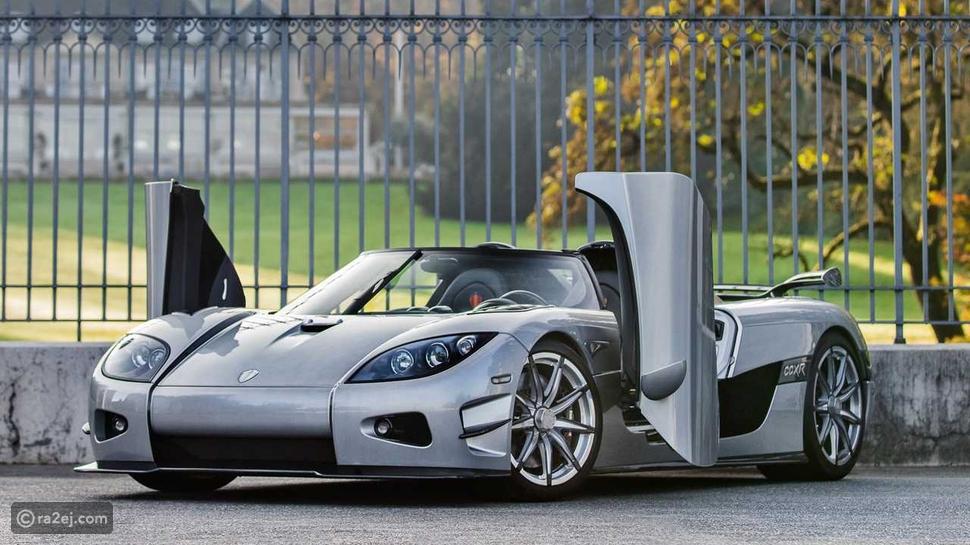 بالصور.. أسرع 10 سيارات على كوكب الأرض
