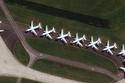 بالصور: الطائرات تنسى التحليق في السماء بسبب كورونا