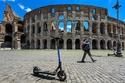 ظهور وسيلة نقل جديدة في روما بعد إنهاء إغلاق كورونا