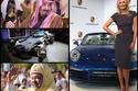 صور النجوم في أسبوع مع عالم السيارات