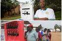 عربة لشحن الهواتف المحمولة بالطاقة الشمسية في رواندا