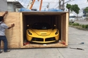 صور تسليم فيراري لافيراري صفراء في تايلاند بسعر خيالي