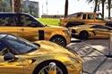 يمتلك الأمير تركي بن عبدلله لديه أسطول كامل من الطرازات من الذهب الخال