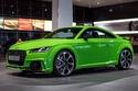 جلسة تصوير لسيارة اودي تي تي ار اس 2016 خضراء مذهلة