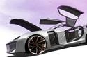 إحدى التصميمات المذهلة لسيارة Lynk & Co. 0X Coupe