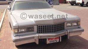 كاديلاك ديفيل للبيع في أبوظبي لعشاق السيارات الكلاسيكية! هذا هو سعرها