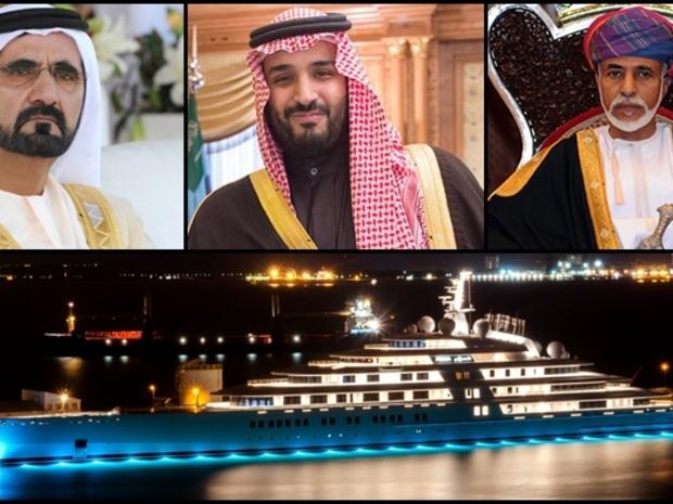 صور أفخم يخوت شيوخ وأمراء الخليج العربي