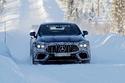 بالصور: اختبار AMG GT 73 على الأراضي الثلجية