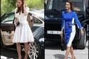 صور مقارنة بين سيارات الملكة رانيا ودوقة كامبريدج كيت ميدلتون