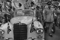 سيارة زفاف الملك الحسين بن طلال والأميرة منى الحسين