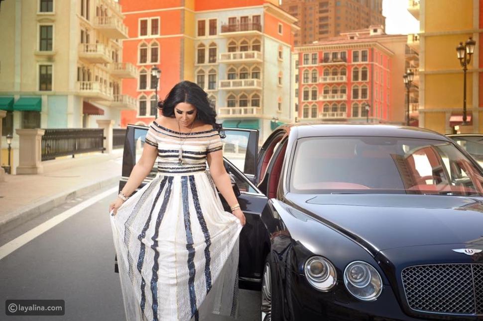 جراج الفخامة: سيارات النجمة الإماراتية أحلام