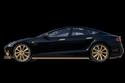 السيارة ستظهر بلمسات من الذهب عيار 24 قيراط.