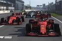 اللعبة تشبه ما يحدث في سباقات فورمولا1 بشكل كبير