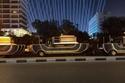 موكب المومياوات الملكية تحرك من أمام المتحف المصري