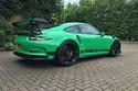 صور عرض بورش 911 GT3 RS خضراء موديل 2016 للبيع
