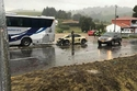حادث مخيف بين ماكلارين 650S ومرسيدس AMG GT وبورش بوكستر 1